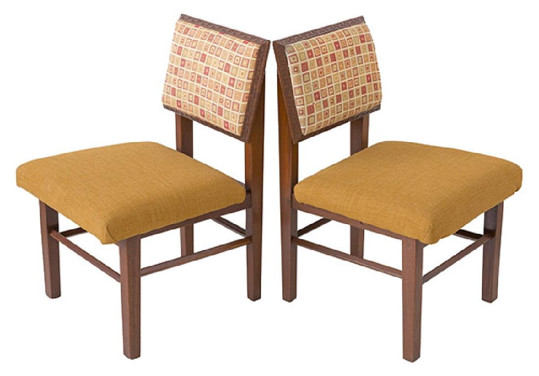 Frank Lloyd Wright Dining Chairs