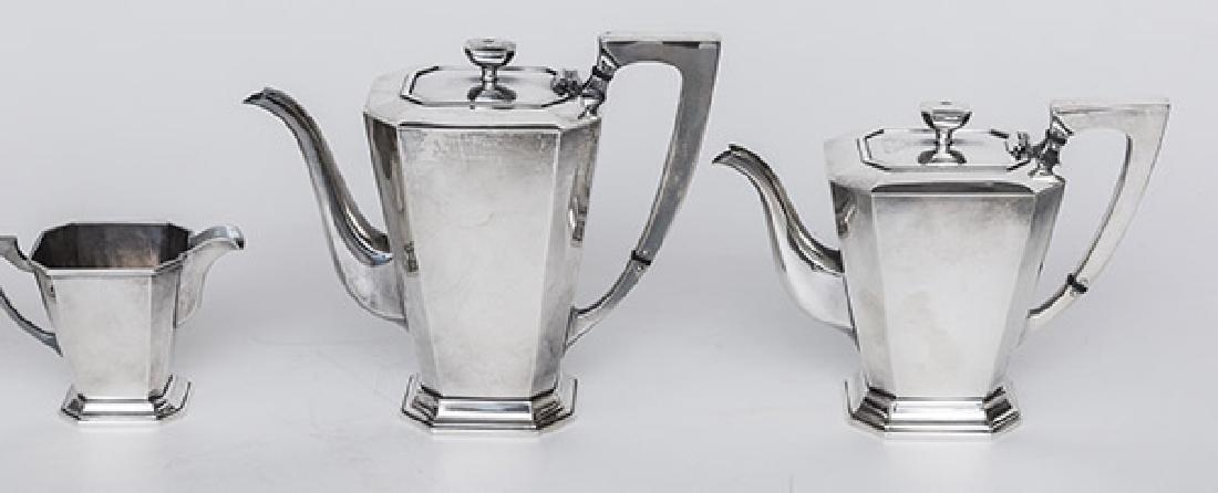 Sterling Silver Tea Set - 2