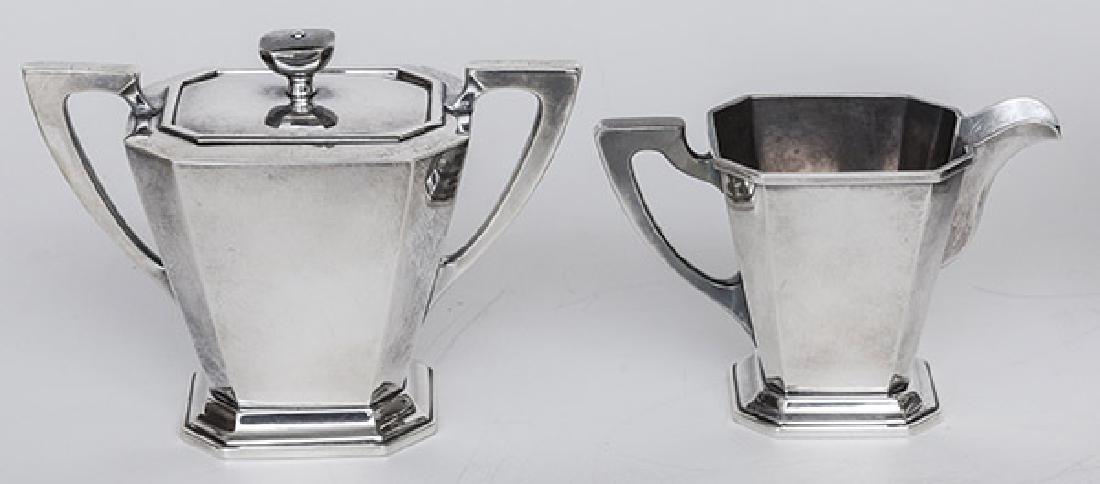 Sterling Silver Tea Set - 3