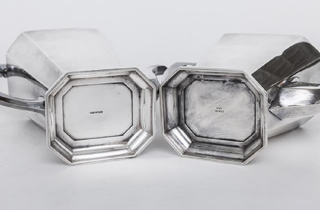 Sterling Silver Tea Set - 4