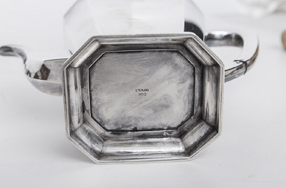 Sterling Silver Tea Set - 5