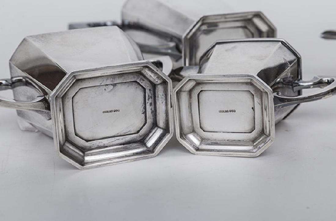 Sterling Silver Tea Set - 6