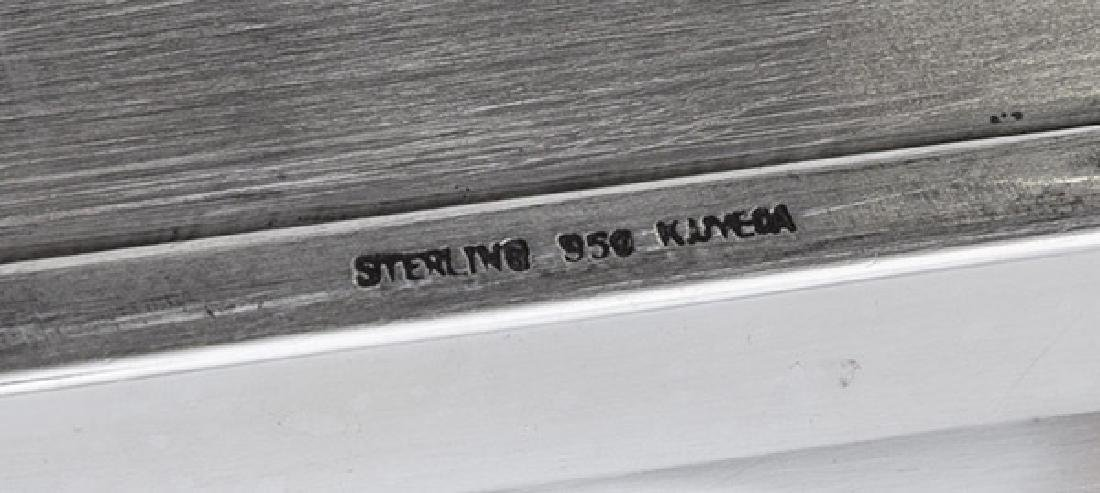 Sterling Silver Tea Set - 9