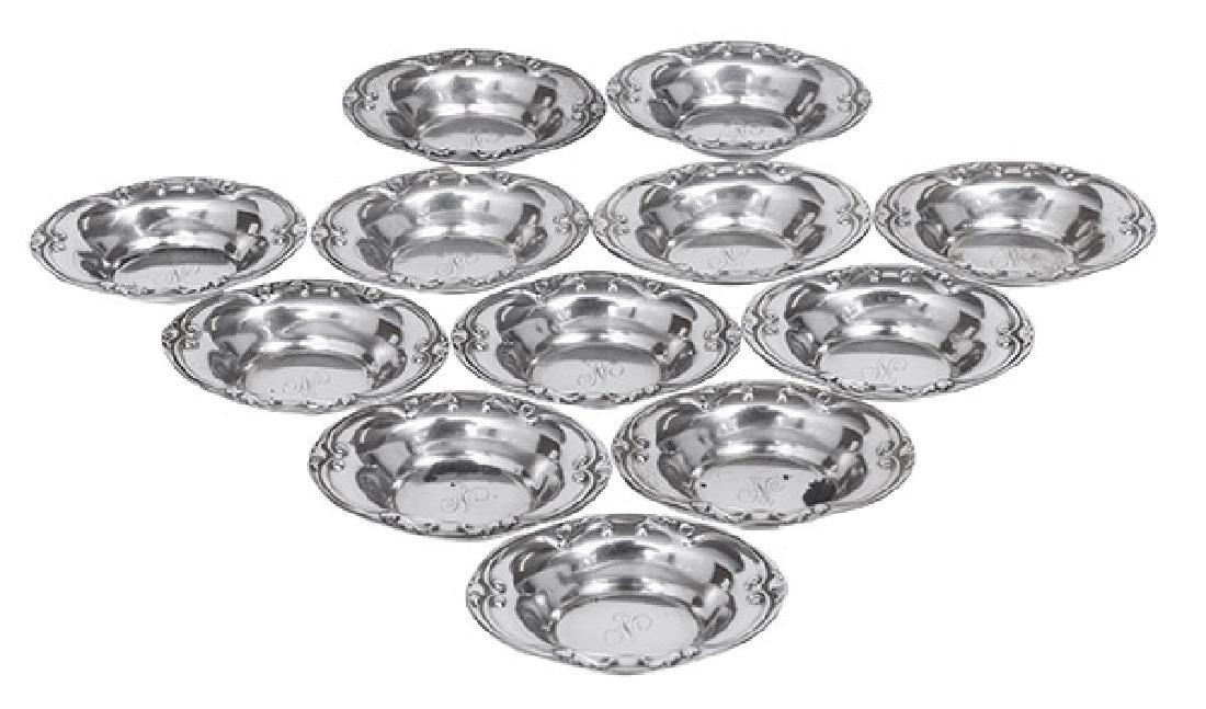 Gorham Sterling Mint Bowls