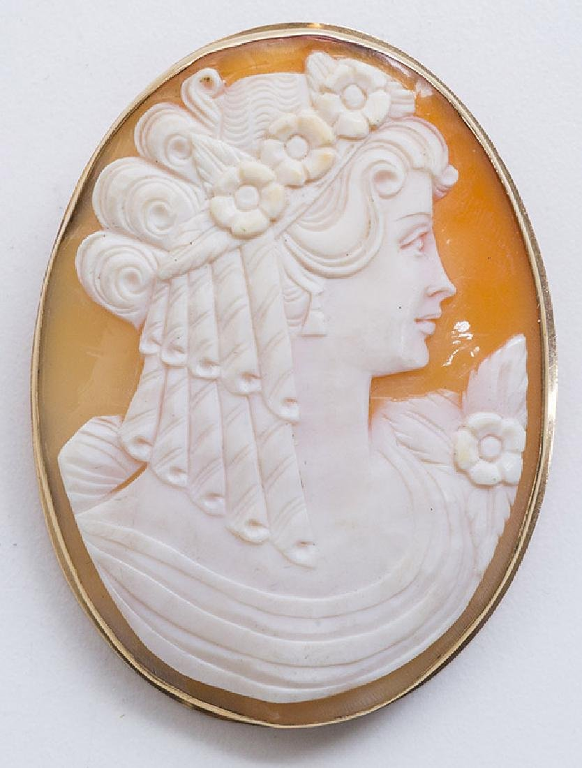 Oval Cameo Pin/Pendant - 3