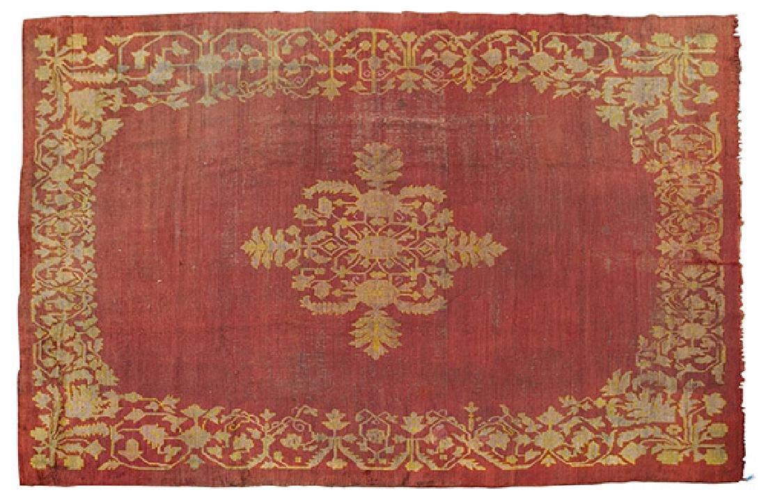 Turkish Oushak Rug