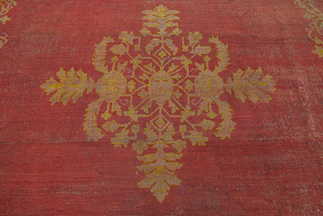 Turkish Oushak Rug - 3