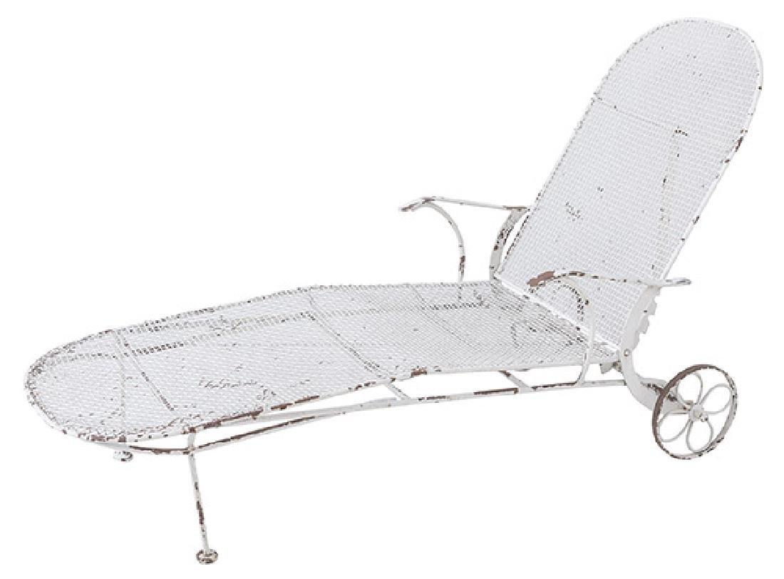 Russel Woodard Sculptura Chaise