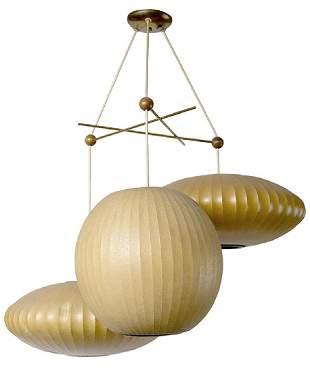 George Nelson & Associates Bubble Cluster Lamp
