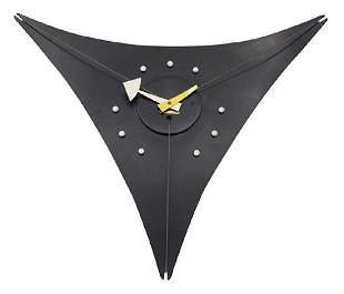 George Nelson & Associates Triangle Wall Clock