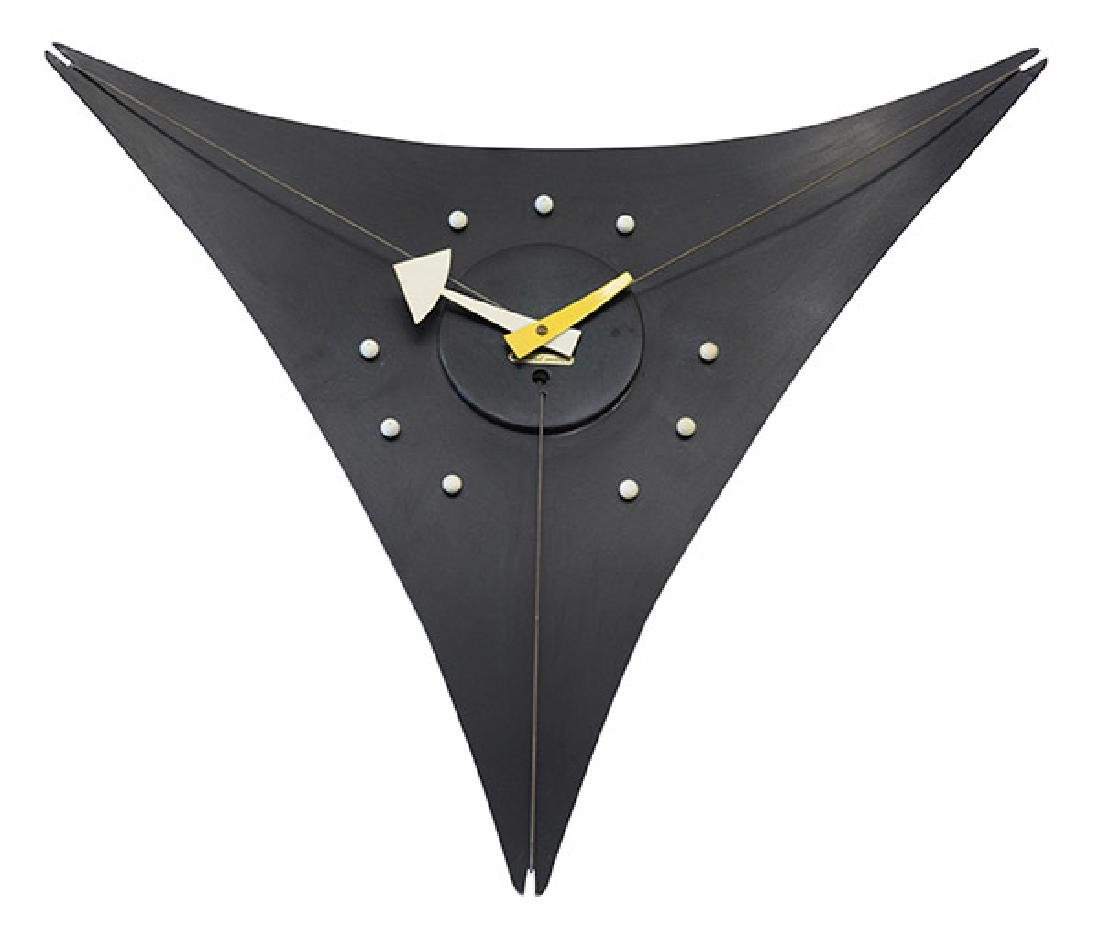 George Nelson & Associates Triangle Wall Clock