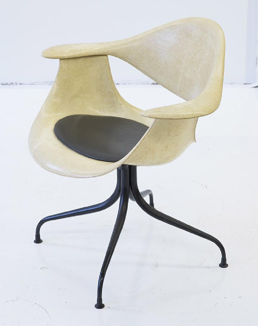 George Nelson & Associates Swaged Leg Chairs - 2