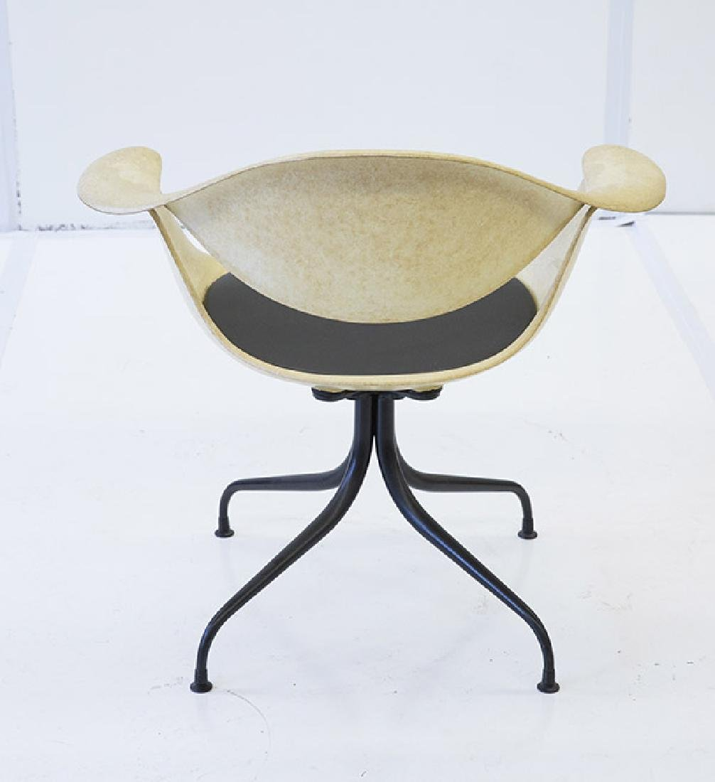 George Nelson & Associates Swaged Leg Chairs - 3