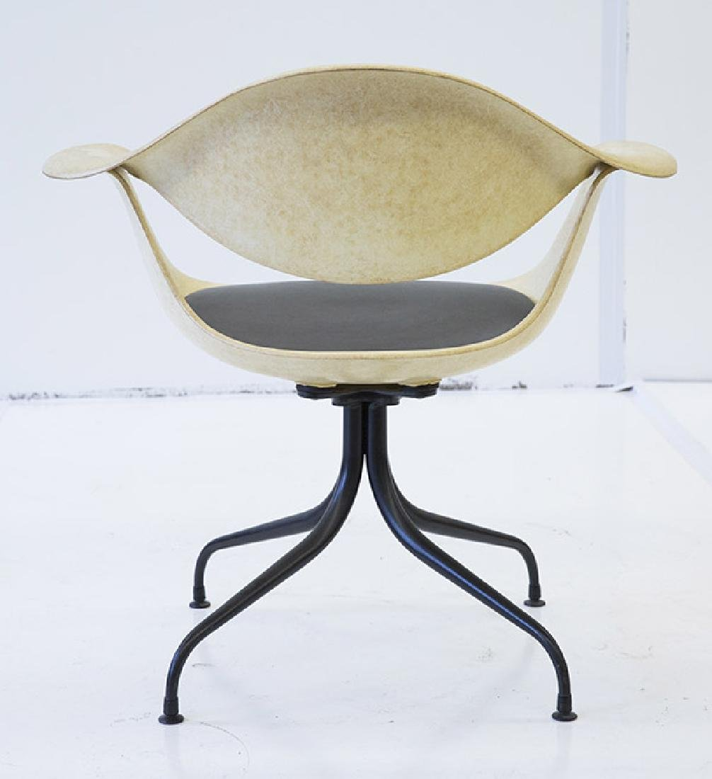 George Nelson & Associates Swaged Leg Chairs - 4