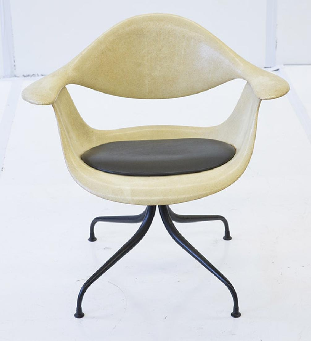 George Nelson & Associates Swaged Leg Chairs - 5