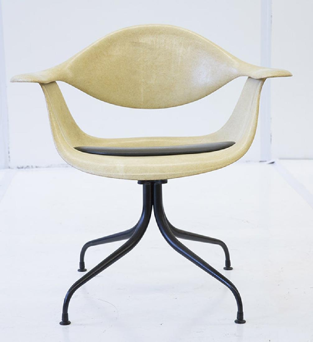 George Nelson & Associates Swaged Leg Chairs - 6