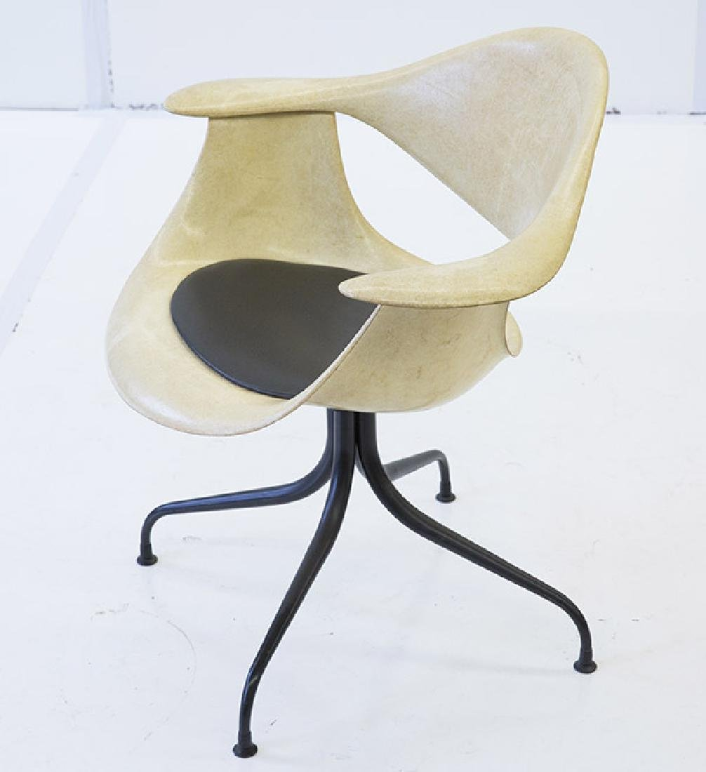 George Nelson & Associates Swaged Leg Chairs - 8