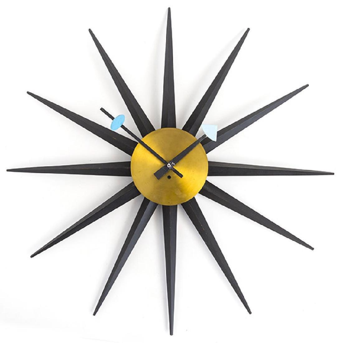 George Nelson & Associates Giant Spike Clock