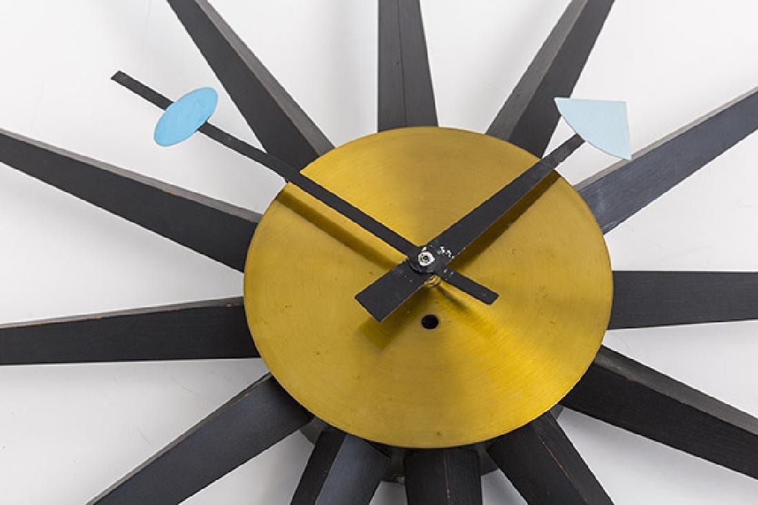 George Nelson & Associates Giant Spike Clock - 2