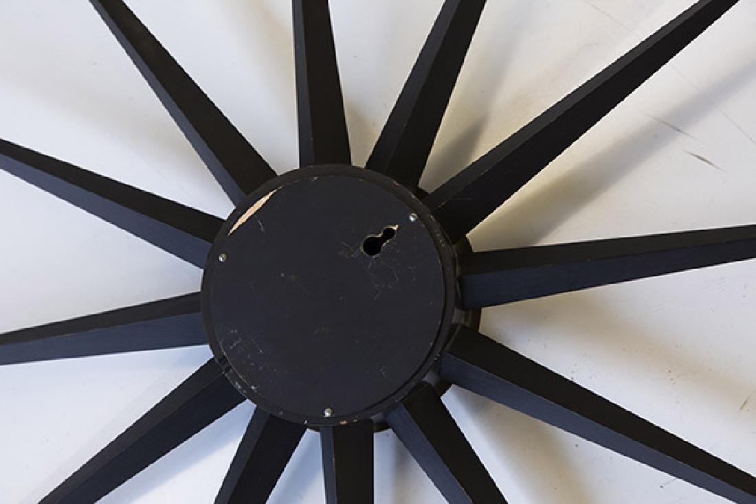 George Nelson & Associates Giant Spike Clock - 4