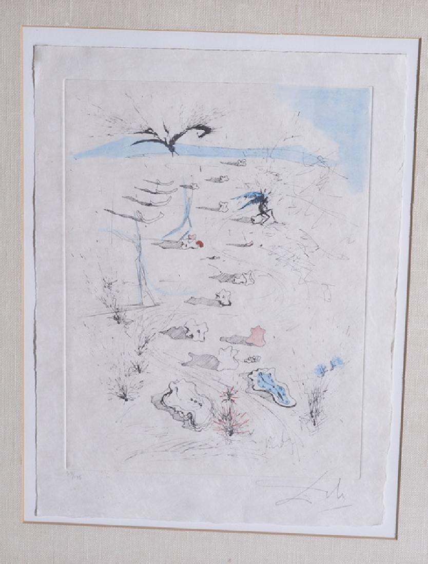 Salvador Dali (1904-1989) Etching (Spain/France) - 2