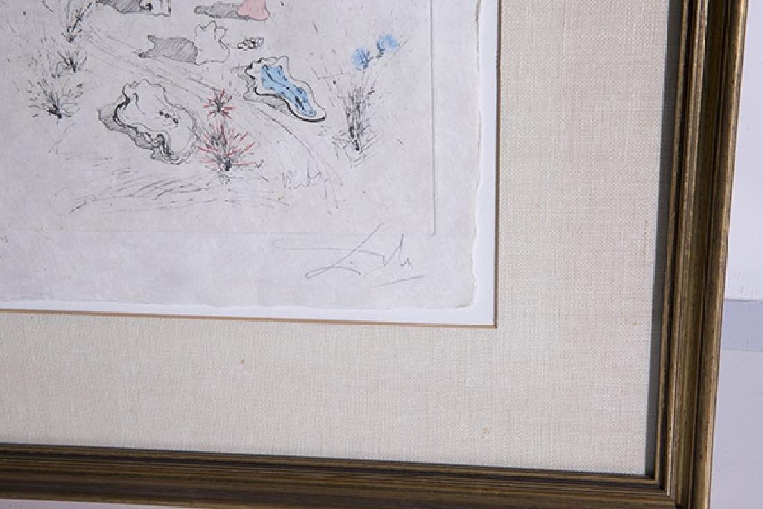 Salvador Dali (1904-1989) Etching (Spain/France) - 3