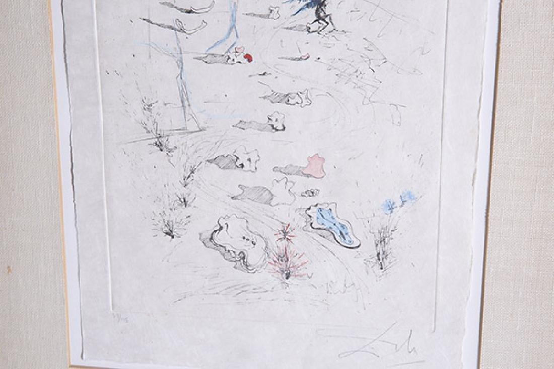 Salvador Dali (1904-1989) Etching (Spain/France) - 4