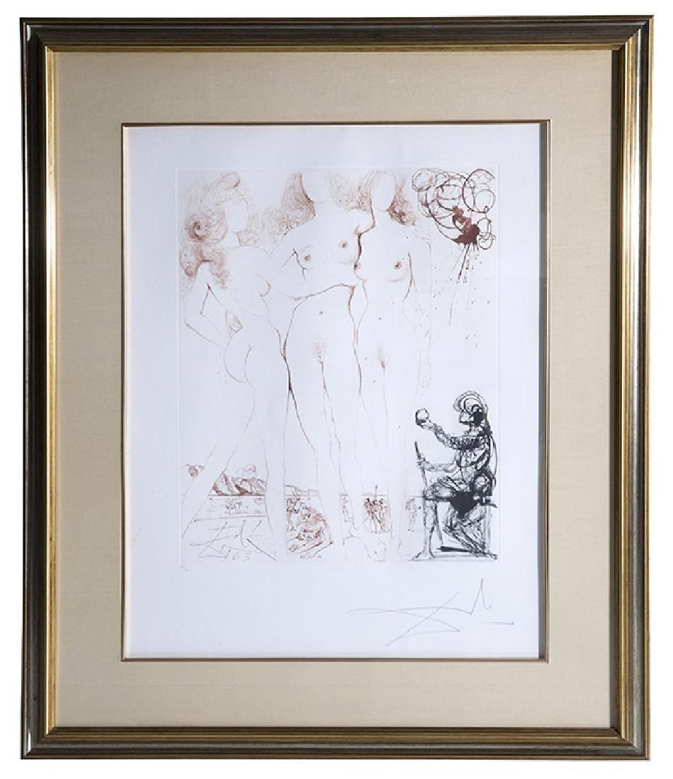 Salvador Dali (1904-1989) Etching (Spain/France)