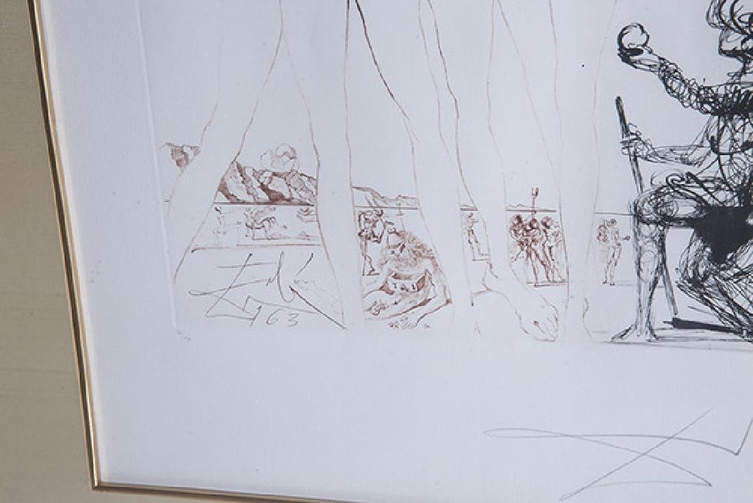 Salvador Dali (1904-1989) Etching (Spain/France) - 5