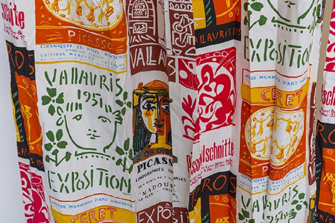 Vintage Designer 1950's Drapes - 2
