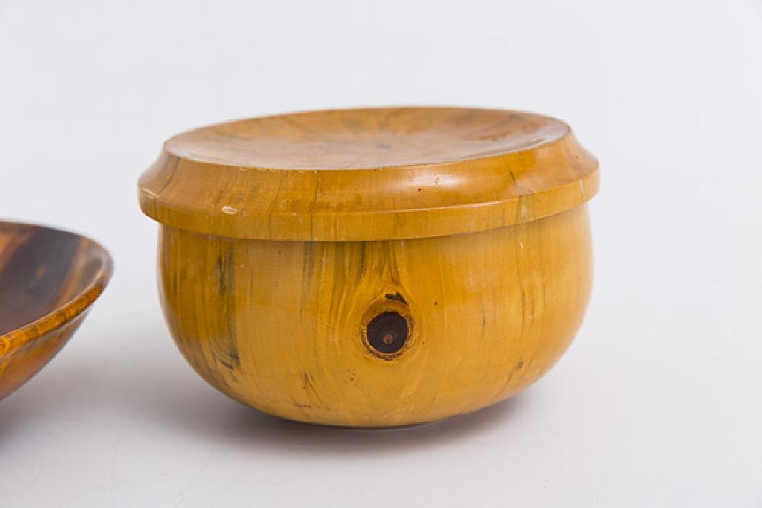 Exotic Wood Box and Bowl - 2