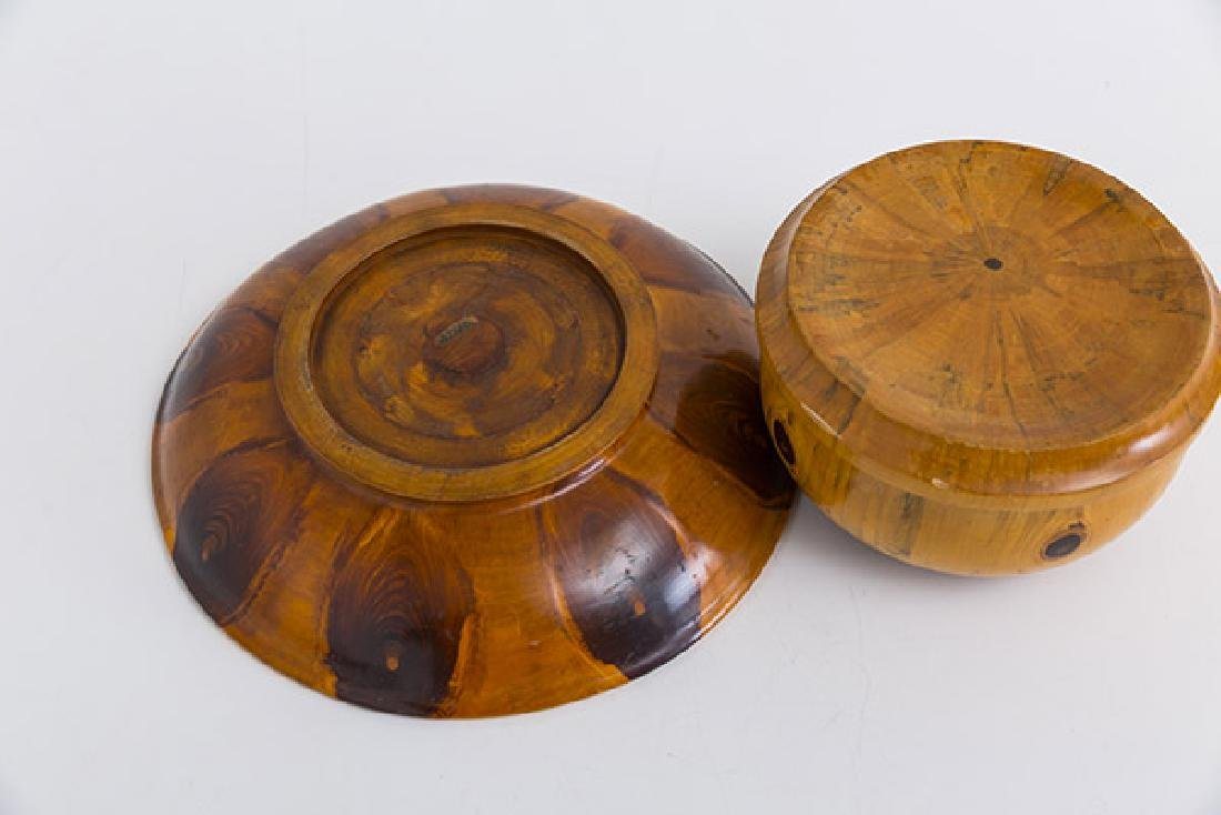 Exotic Wood Box and Bowl - 3