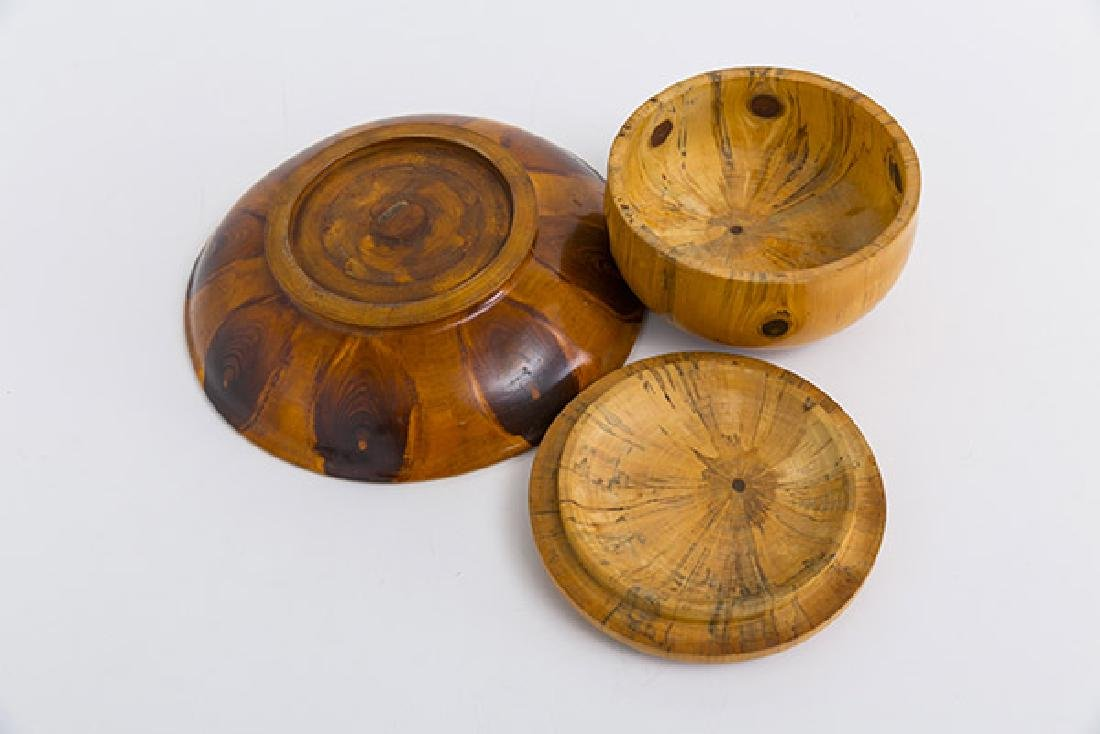 Exotic Wood Box and Bowl - 4