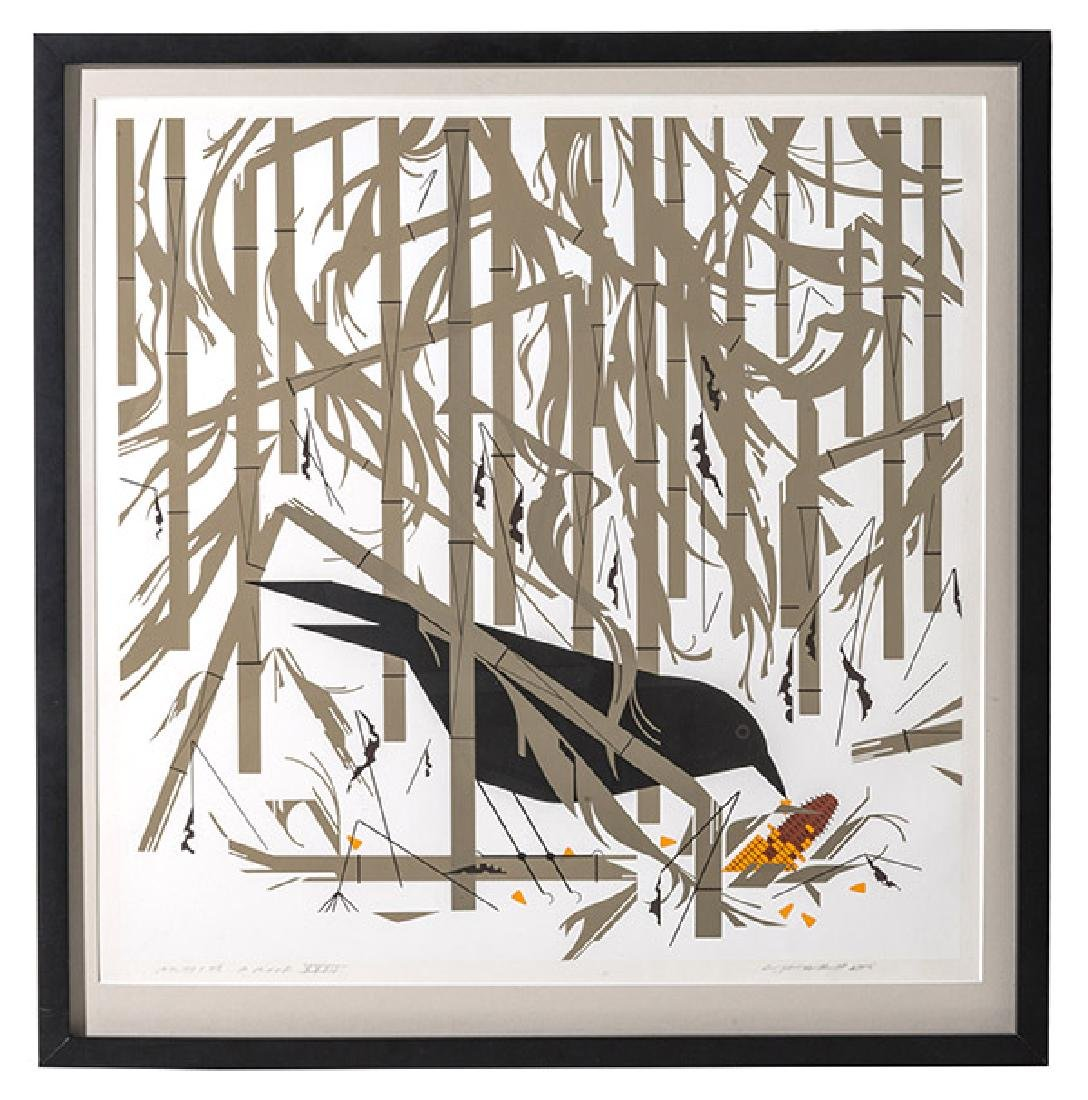 Charley Harper (1922-2007) serigraph (Cincinnati, Ohio)