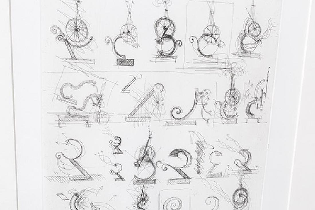 Jean Tinguely (1925-1991) Etching (France/Switzerland) - 4