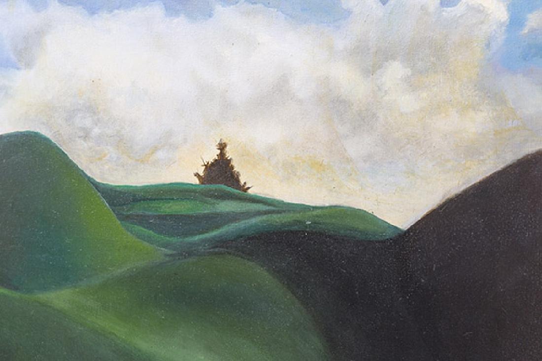 E Sanada Surrealist Acrylic - 4