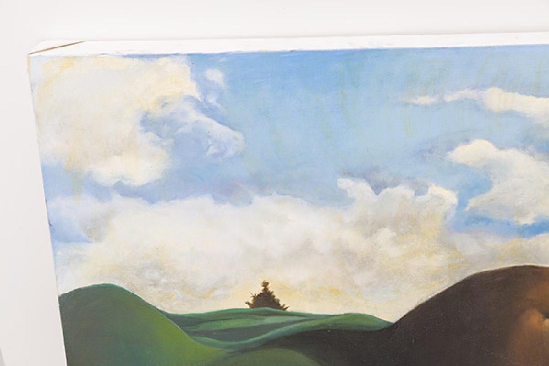 E Sanada Surrealist Acrylic - 5