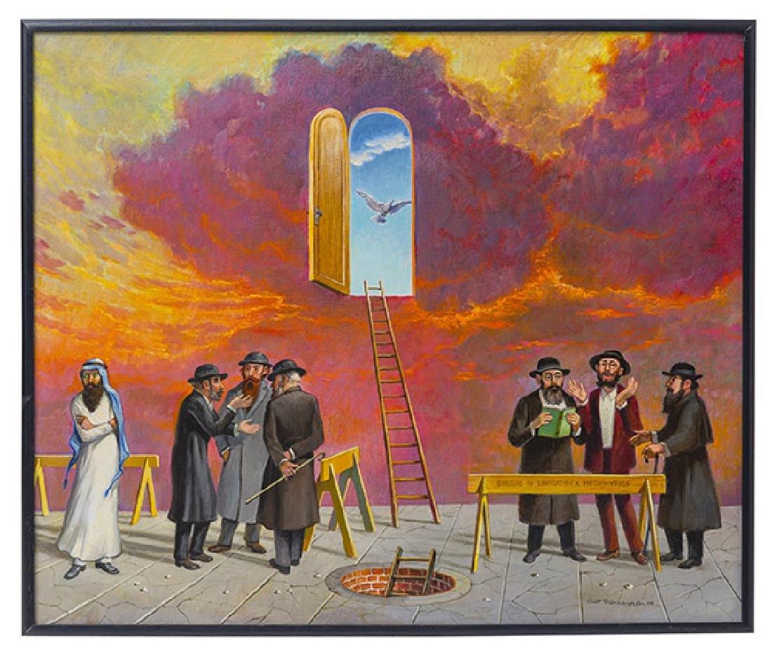 Curt Frankenstein (1920-2009) Oil (Illinois)