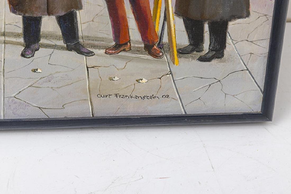 Curt Frankenstein (1920-2009) Oil (Illinois) - 2