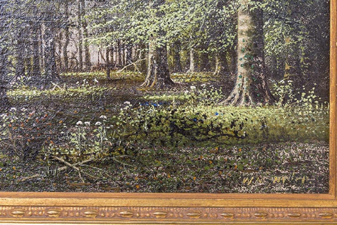 William McKendree Snyder (1848-1930) Oil (Indiana) - 4