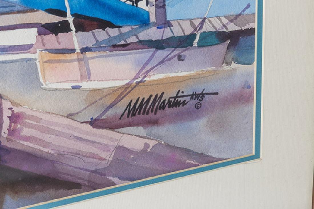 M.M. Martin Watercolor - 2