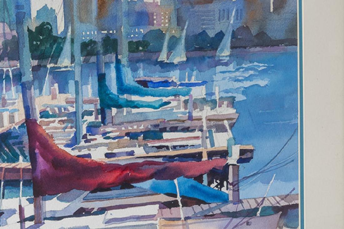 M.M. Martin Watercolor - 3