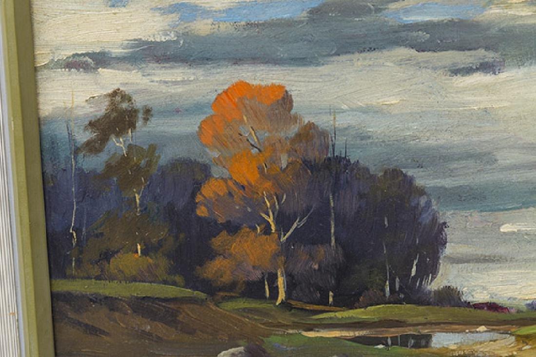 Orrin Draver (1895-1964) Oil (Indiana, Nebraska) - 3