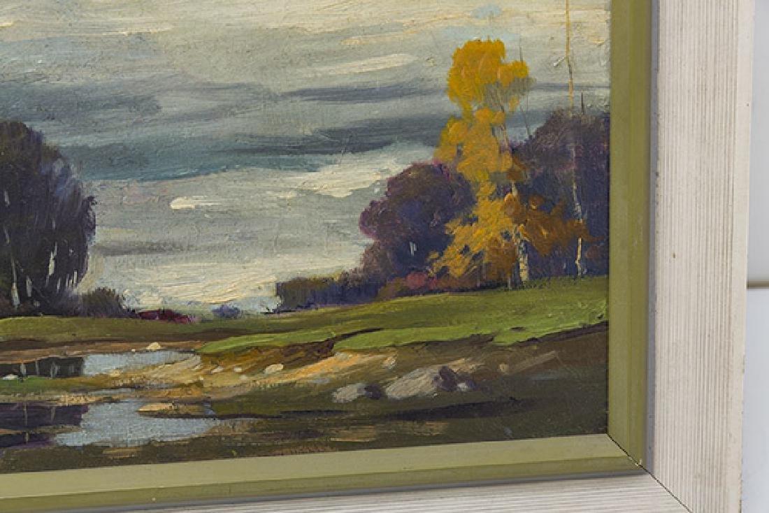 Orrin Draver (1895-1964) Oil (Indiana, Nebraska) - 4