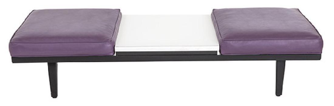 George Nelson & Associates Steel Frame Bench