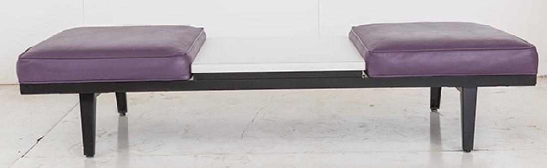 George Nelson & Associates Steel Frame Bench - 2