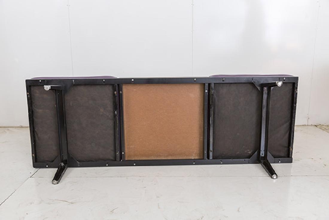 George Nelson & Associates Steel Frame Bench - 5