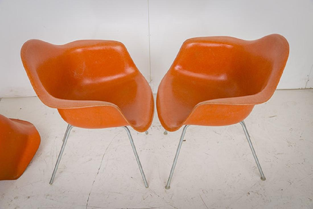 Charles & Ray Eames Armchairs - 7