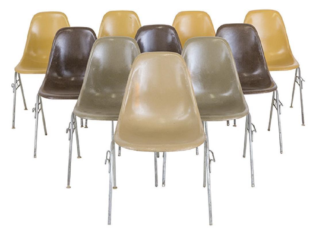 Charles & Ray Eames Side Shells