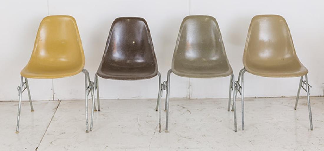Charles & Ray Eames Side Shells - 2